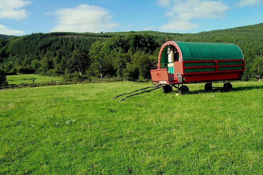 Horse Caravans The Glenmalure Lodge